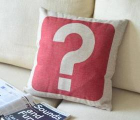  Question Mark Pillow