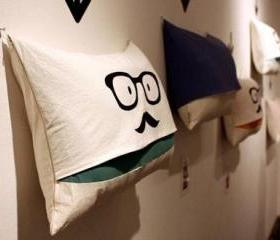 Cartoon Fabric Pillow